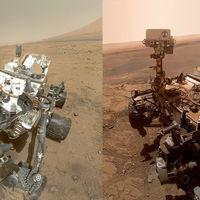 El antes y el después de Curiosity tras casi ocho años de misión y haber sobrevivido a múltiples averías