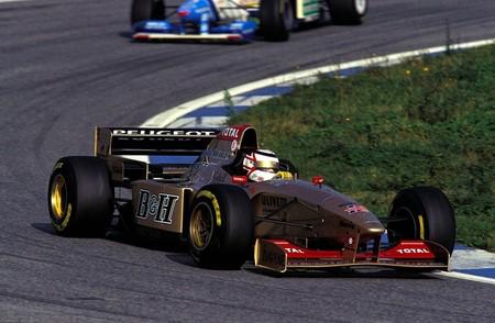 Mansell Jordan F1 1997