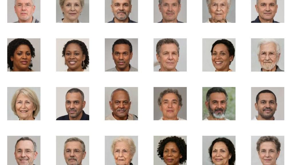 100.000 caras, el proyecto de concienciación que pone rostro (generado por IA) a las miles de víctimas de la COVID-19
