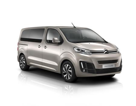 Citroën SpaceTourer: una nueva furgoneta con tres carrocerías y hasta nueve plazas