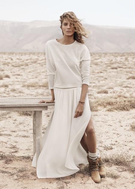 Maxi faldas cargadas de estilo [Los 50 flechazos del verano]
