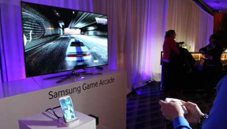 Una demostración del Game Pad del Galaxy S4 en vídeo