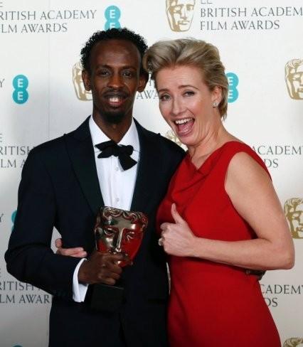 Barkhad Abdi y Thompson