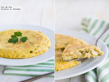 Tortilla de bacalao, receta fácil y sabrosa