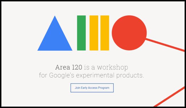 """Google dejará que cualquiera pruebe las apps experimentales de su misteriosa división """"Area 120"""""""