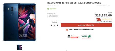 Huawei Mate 10 Pro Precio Elektra Mexico