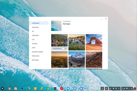 """Chrome OS se prepara para tener un menú """"Compartir"""" parecido al de Android"""