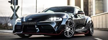 Toyota GR450 Supra by Manhart, el deportivo recibe potencia suficiente para dejar huella en el pavimento