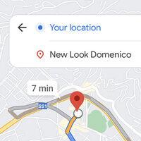Google Maps prueba un nuevo diseño minimalista para las rutas