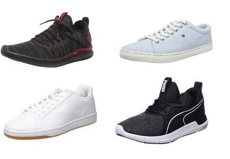 Chollos en tallas sueltas de zapatillas Tommy Hilfiger, Reebok o Puma o Nike por menos de 30 euros en Amazon
