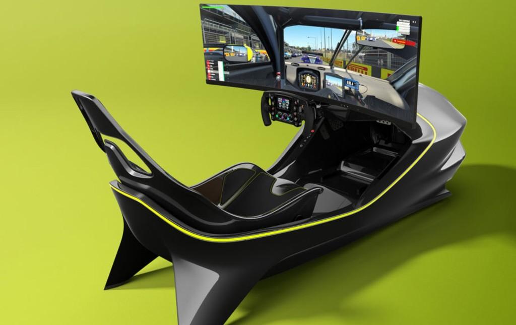 Este simulador de Aston Martin es solo para sibaritas, y lo demuestra su precio de más de 62.000 euros