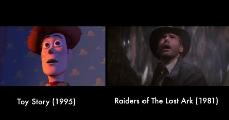 Todos los homenajes de las películas de Pixar al séptimo arte reunidos en un imprescindible vídeo