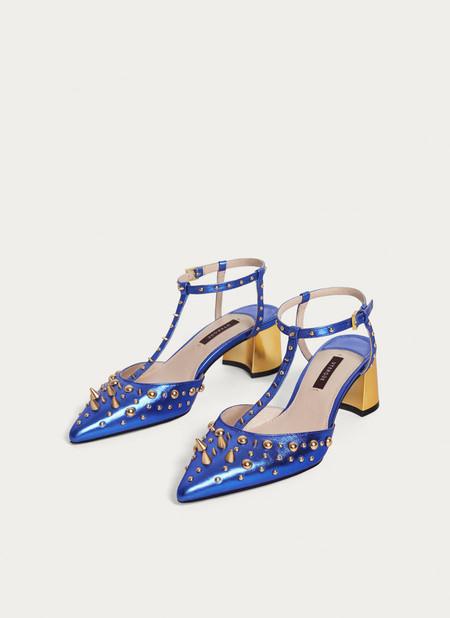 zapatos tacon bajo rebajas shopping