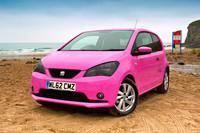 Miinx, el SEAT Mii rosa que conduciría Krispin Klander