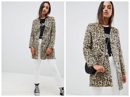 Abrigo Leopardo Asos