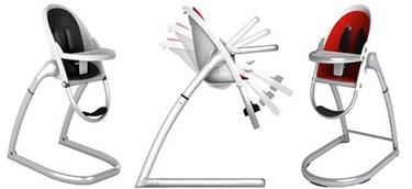 Highpod de Phil and Teds, una trona de diseño futurista