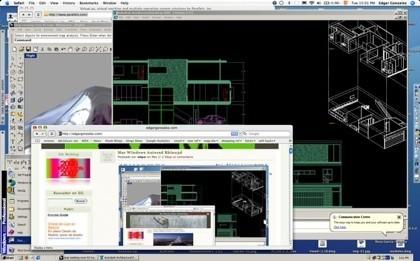 Autocad y Rhino3D para Windows junto a aplicaciones de Mac OS X gracias a Parallels Coherence Mode