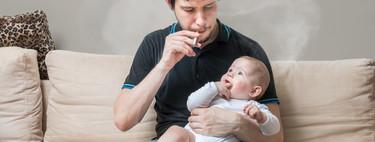 Los niños 'fuman' entre 60 y 150 cigarrillos al año cuando viven en un hogar con humo