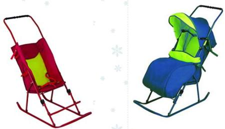 Snow Strollers, carrito-trineo