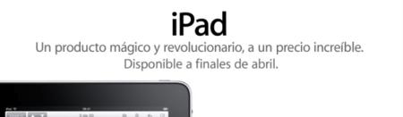 iPad Abril España