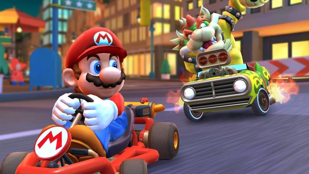 Mario Kart Tour alcanza 90 millones de descargas y se posiciona como el videojuego de Nintendo™ mas descargado en su primera semana