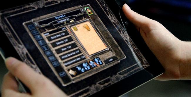 Baldur´s Gate en un iPad