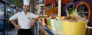 """Juanjo Ruiz, el chef de los 672 salmorejos: """"Hay un sabor casi para cada paladar y todos son sorprendentes"""""""