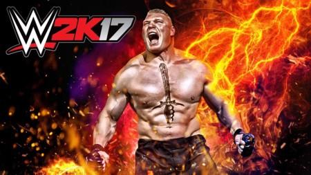 La presentación de Brock Lesnar en el nuevo tráiler de WWE 2K17