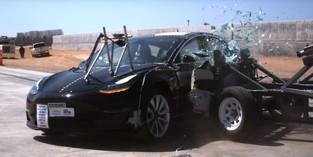 Crash Test Tesla