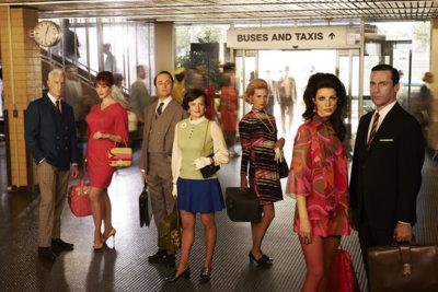 Mad Men o cómo una serie puede ser un continuo editorial de moda