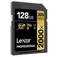 Ahora en Amazon, tienes los 128 GB de la Lexar Professional 2000x a precio mínimo y de verdadero chollo: sólo 101,14 euros