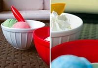 Retro Icecream, una colección para servir helados con encanto