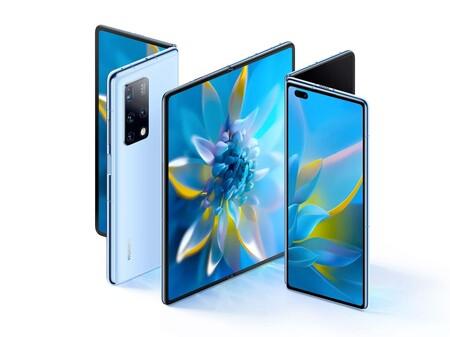 """Huawei Mate X2: """"nuevo"""" diseño, pantallas más grandes, y nuevo doblez, la reinvención más importante para los plegables de Huawei"""