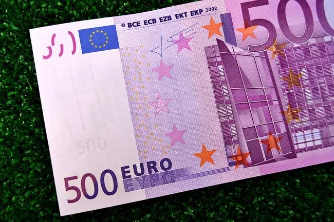 Los billetes de 500 euros están desapareciendo