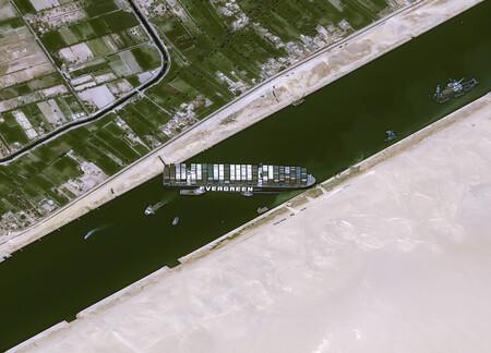 Encallamiento Ever Given Suez
