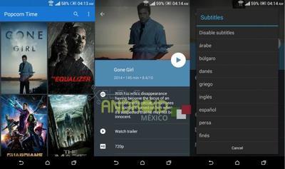 Popcorn Time 1.0 llega a Android oficialmente