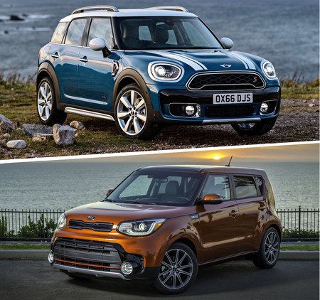 Mini Countryman S Vs Kia Soul Sx 4