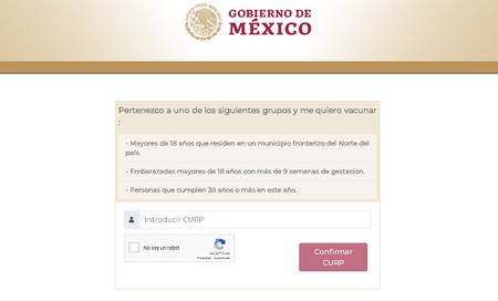 Registro Vacuna Covid 19 Adultos 30 Anos Mexico