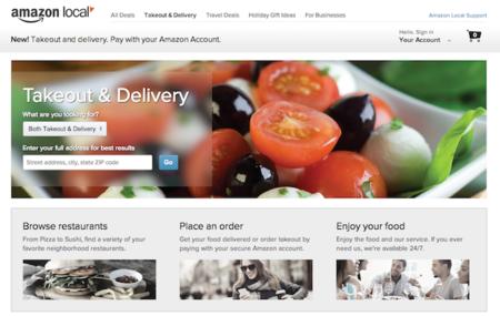 Amazon ahora podrá contactarte con un restaurante para  que tengas comida a domicilio