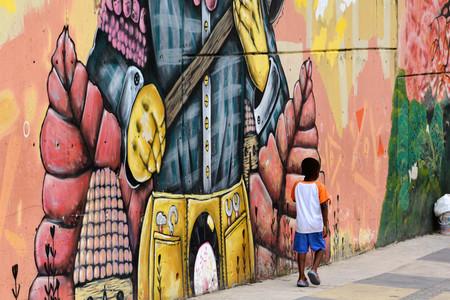 Grafiti Medellin Comuna