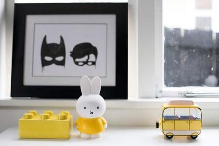 Un dormitorio infantil para los fans de Batman