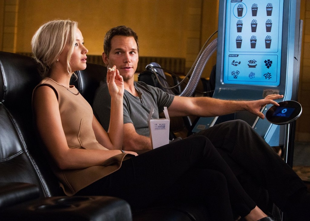 Chris Pratt Jennifer Lawrence Passengers