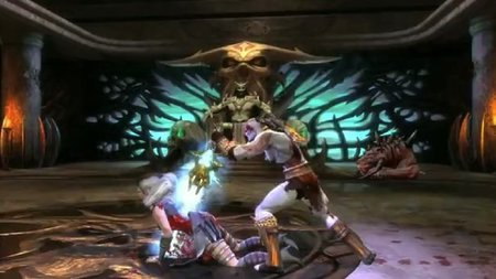 'Mortal Kombat'. Kratos nos demuestra en vídeo de qué pasta está hecho. No faltan a la cita los QTE