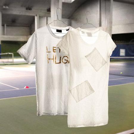 San Valentín: set de camisetas 'abrázame' de Le Coq Sportif