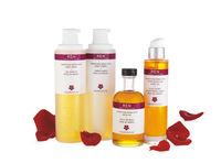 Para empezar el día con las pilas cargadas: exfoliante y aceite de rosa Otto de Marruecos de REN