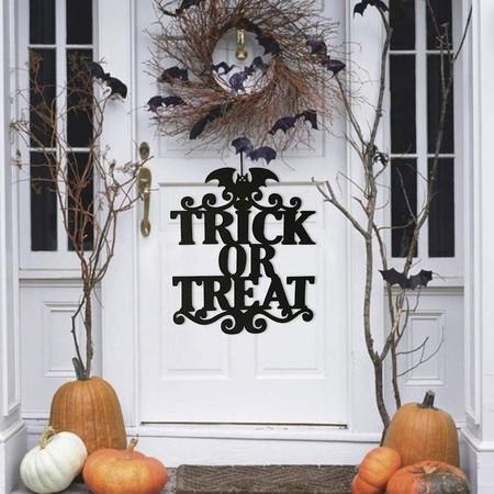 ¿Truco o trato? Atención a la decoración de las puertas para sorprender este Halloween