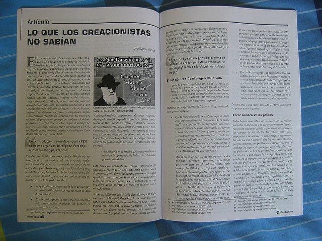 Artículo cientifico publicado en una revista