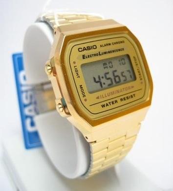 ¿Te atreves con el modelo dorado de Casio?