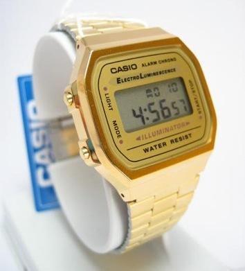 779485f5bcc5 ¿Te atreves con el modelo dorado de Casio