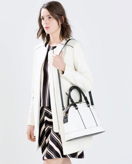 El bolso en blanco